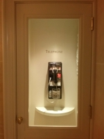 Pay phone at Henri Bendel - 5th Avenue, NYC