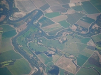 Lush farmland or a Kandinsky?