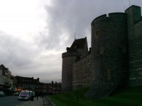 Windsor Castle and town of Windsor