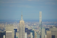 Empire State Building and 432 Park Avenue from One World Trade Center