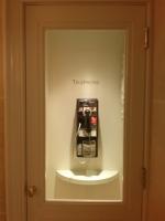 Pay phone at Henri Bendel - 5th Avenue, NYC